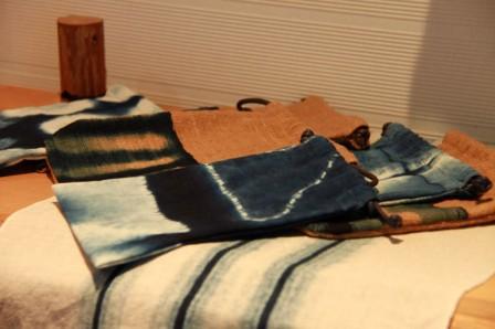 巾着 藍染計良 和歌山県 作家 龍神