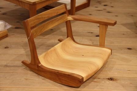ロッキング座椅子 G.WORKS 和歌山 アート