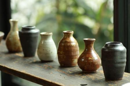 一輪挿し kaokao 和歌山県 龍神村 アート 作品 陶芸作家