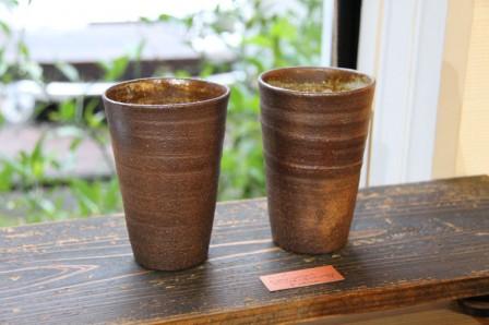 ビール用カップ タンブラー kaokao 和歌山県 アーティスト 陶芸